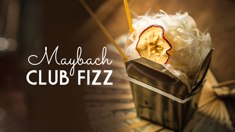 Maybach Club Fizz, Belle Booze Box