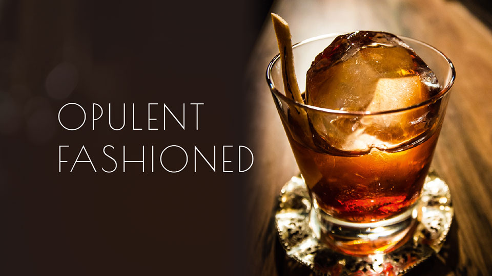 Opulent Fashioned, Belle Booze Box