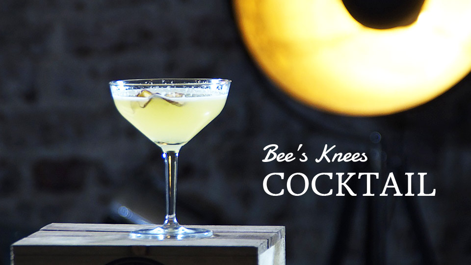 Bee's Knees Cocktail, Belle Booze Box
