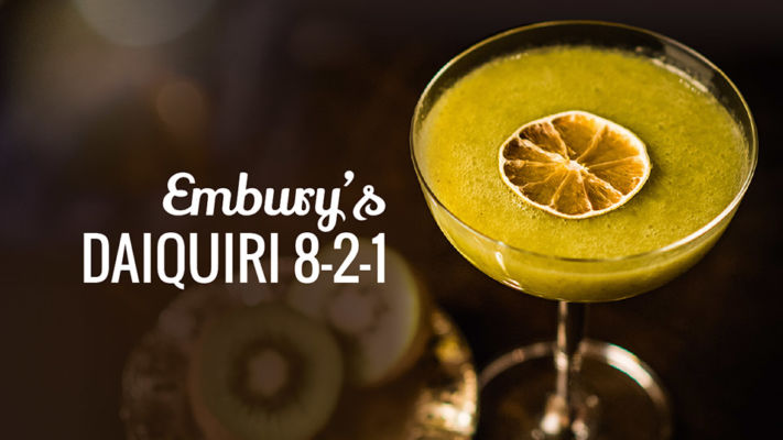 Embury's Daiquiri, Belle Booze Box